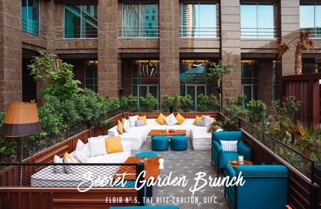 Secret Garden Brunch